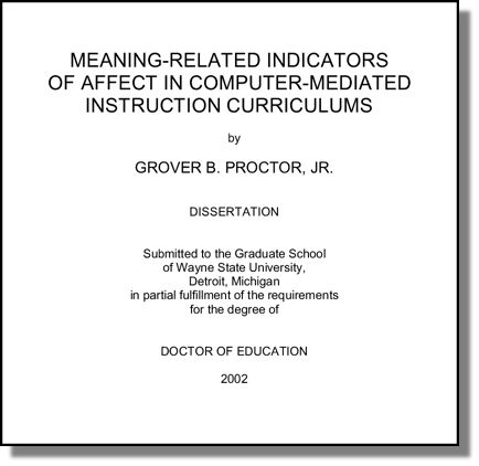 Dissertation Abstracts Diss